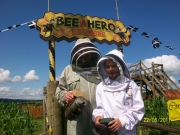 Cornwall Bee Keepers at opening 2011